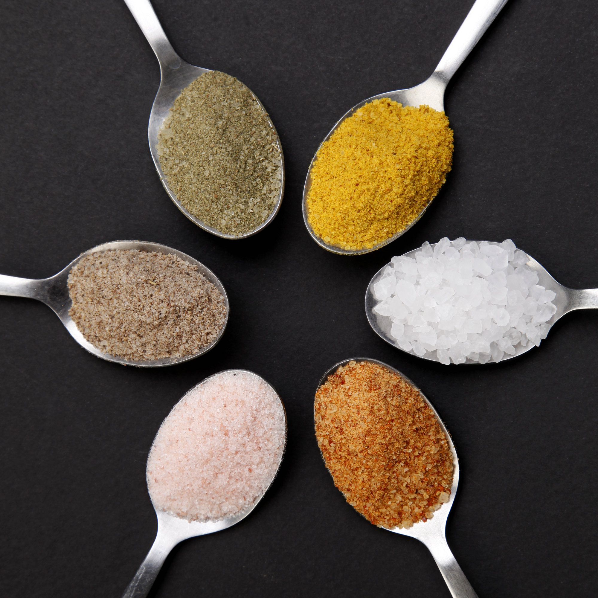Salts and salt substitutes