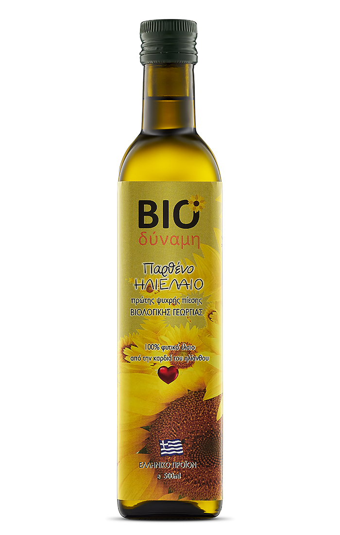 Greek Organic Sunflower Oil