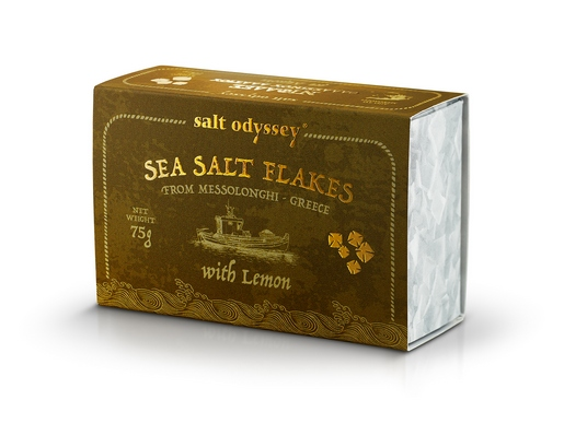 SEA SALT FLAKES LEMON