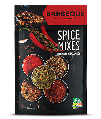 Spice mix for BBQ